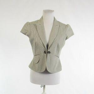 Ann Taylor LOFT gray cotton jacket 2